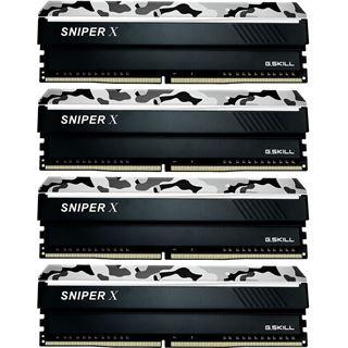 32GB G.Skill SniperX Urban Camouflage DDR4-3200 DIMM CL16 Quad Kit