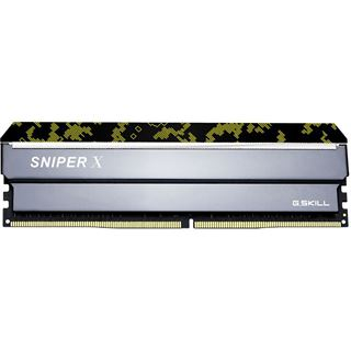 64GB G.Skill SniperX Digital Camouflage DDR4-3200 DIMM CL16 Quad Kit