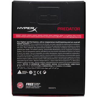 32GB HyperX Predator schwarz DDR4-3333 DIMM CL16 Quad Kit