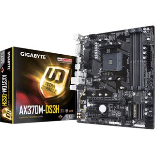 Gigabyte GA-AX370M-DS3H AMD X370 So.AM4 Dual Channel DDR4 mATX Retail