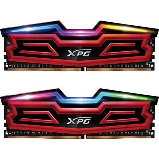 16GB ADATA XPG Spectrix D40 RGB rot DDR4-3000 DIMM CL16 Dual Kit