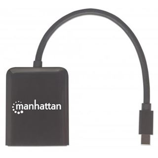 Manhattan HDMI Splitter Mini-DisplayPort auf 2-Port mit MST