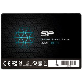 "1000GB Silicon Power Ace A55 2.5"" (6.4cm) SATA 6Gb/s 3D-NAND TLC"