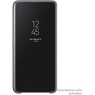 Samsung Clear View Standing Cover Galaxy S9 Plus schwarz