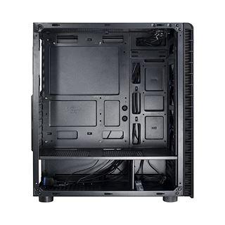 Inter-Tech CXC2 mit Sichtfenster Midi Tower ohne Netzteil schwarz