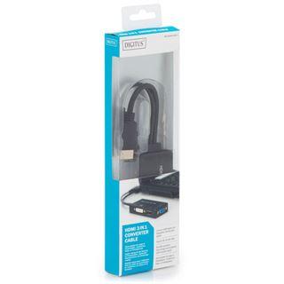 Digitus HDMI 3in1 converter cable,0,2m