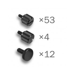 DimasTech Benchtable EasyXL Black ThumbScrews Kit