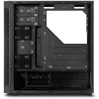Sharkoon TG5 RGB mit Sichtfenster Midi Tower ohne Netzteil schwarz