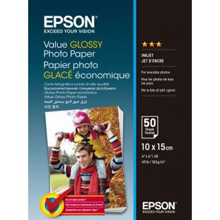 Epson Value Glossy Photo Paper 50 Blatt C13S400038