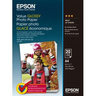 Epson Value Glossy Photo Paper 20 Blatt