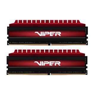 16GB Patriot Viper 4 rot DDR4-3200 DIMM CL16 Dual Kit
