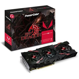 8GB PowerColor Radeon RX Vega 56 Red Dragon Aktiv PCIe 3.0 x16