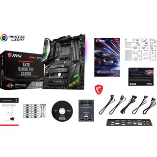 MSI X470 GAMING PRO CARBON AMD X470 So.AM4 Dual Channel DDR4 ATX
