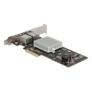 Delock PCI Express Karte > 2 x 10 Gigabit LAN RJ45