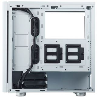 Corsair Carbide 275R Tempered Glass weiß