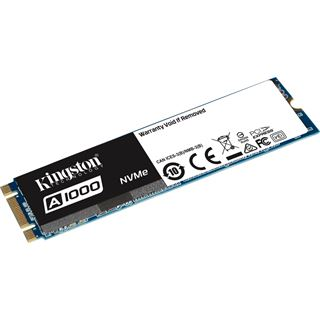 480GB Kingston A1000 M.2 2280 PCIe NVMe 3.0 x2 3D-NAND TLC