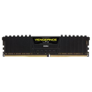 32GB Corsair Vengeance LPX schwarz DDR4-3000 DIMM CL16 Quad Kit