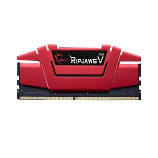 16GB G.Skill RipJaws V rot DDR4-2666 DIMM CL19 Dual Kit