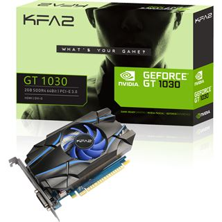 2GB KFA2 GeForce GT 1030 Aktiv PCIe 3.0 (Retail)