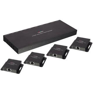 Lindy Cat.6 4Port HDMI & IR Spitter Extender, 50m