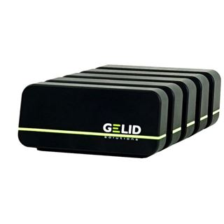 GELIDSolutions Fourza Multi Ladestation 4xUSB 48W 9.6A schwarz