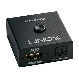 LINDY HDMI Bypass, CEC Emulation, 1080p 3D 4K30