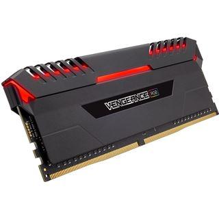 16GB Corsair Vengeance RGB schwarz DDR4-3000 DIMM CL16 Dual Kit