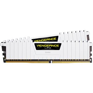 16GB Corsair Vengeance LPX weiß DDR4-3000 DIMM CL16 Dual Kit