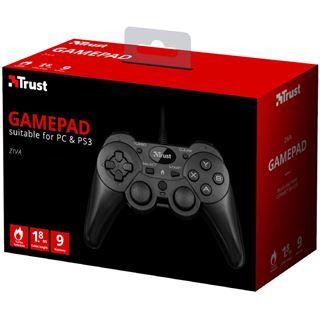 TRUST ZIVA Wired Gamepad für pc and ps3