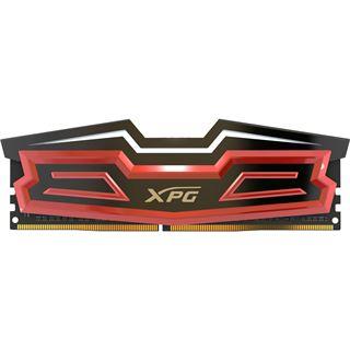 8GB ADATA XPG Spectrix D40 RGB rot DDR4-2666 DIMM CL16 Dual Kit