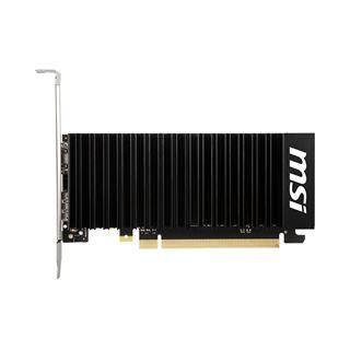 2GB MSI GeForce GT 1030 2GHD4 LP OC Passiv PCIe 3.0 x16 (Retail)