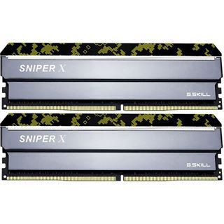 16GB G.Skill SniperX Digital Camouflage DDR4-2666 DIMM CL19 Dual Kit