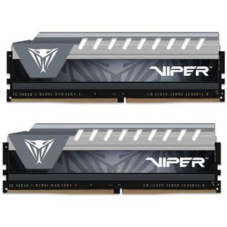 8GB Patriot Viper Elite grau DDR4-2666 DIMM CL16 Dual Kit