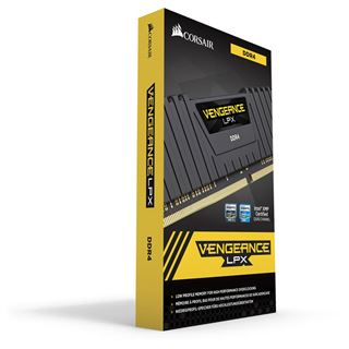 64GB Corsair Vengeance LPX schwarz DDR4-2933 DIMM CL16 Octa Kit