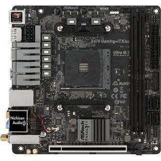 ASRock Fatal1ty X470 Gaming-ITX/ac AMD X470 So.AM4 Dual Channel DDR4