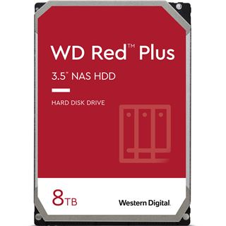 "8000GB WD Red Plus WD80EFAX 256MB 3.5"" (8.9cm) SATA 6Gb/s"