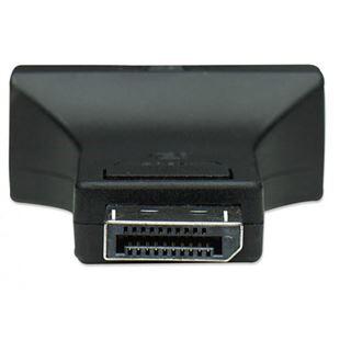 Techly Adapter - DisplayPort Stecker auf DVI-I 24+5 Buchse