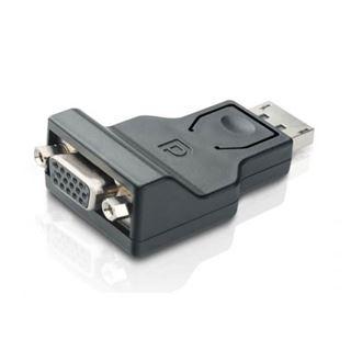 Techly Adapter - DisplayPort 1.2 Stecker auf VGA kompakt
