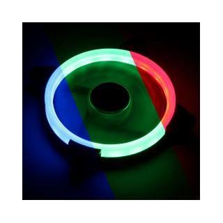 Lamptron Nasa RGB-LED-Ring Lüfter - 120mm
