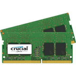 CRUCIAL 4GB Kit 2GBx2 2400MHz DDR4 PC4-19200 CL17 SR x16 Unbuffered