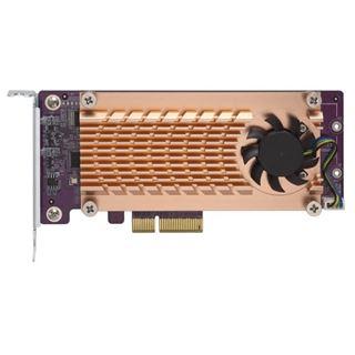 QNAP Dual M.2 SATA SSD Erweiterung PCIe Gen2 x 2