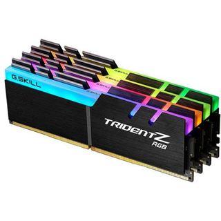 64GB G.Skill Trident Z RGB DDR4-3000 DIMM CL16 Quad Kit