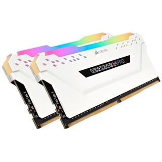 16GB Corsair Vengeance RGB PRO weiß DDR4-3600 DIMM CL18 Dual Kit