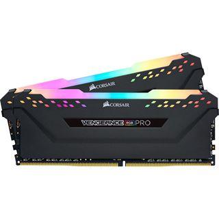 16GB Corsair Vengeance RGB PRO schwarz DDR4-4000 DIMM CL19 Dual Kit