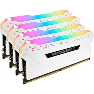 32GB Corsair Vengeance RGB PRO weiß DDR4-2666 DIMM CL16 Quad Kit