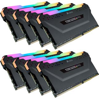 64GB Corsair Vengeance RGB PRO schwarz DDR4-2666 DIMM CL16 Octa Kit