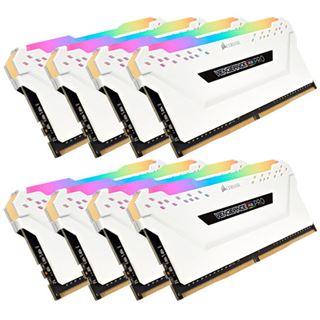 64GB Corsair Vengeance RGB PRO weiß DDR4-3200 DIMM CL16 Octa Kit