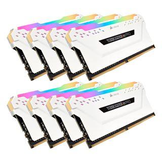 64GB Corsair Vengeance RGB PRO weiß DDR4-3600 DIMM CL18 Octa Kit