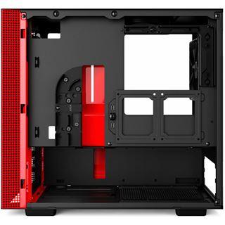 NZXT H200 Mini-ITX mit Sichtfenster schwarz/rot