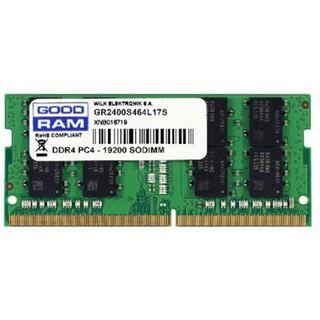 8GB GOODRAM GR2400S464L17S/8G DDR4-2400 SO-DIMM CL17 Single